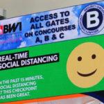 Американский аэропорт запускает систему контроля за социальной дистанцией