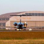Модернизирован перрон для деловой авиации в аэропорту Рига